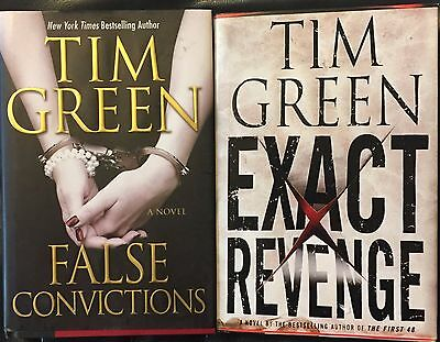 Lot of 2 Tim Green Books 1st Edition, 1st Printing