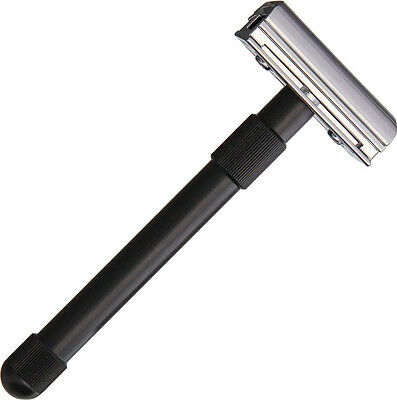 SimbaTec SBT86510 Razolution 4 Shave Safety Razor Aluminum Handle