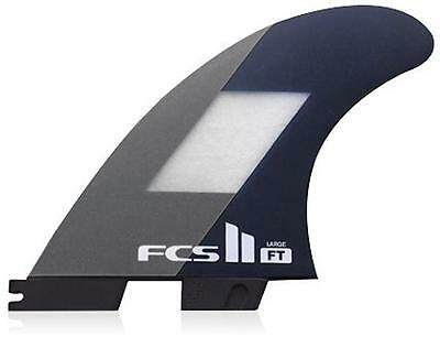 FCS II FT Thruster Set In Large Filipe Toledo Genuine New FCS 2 Surfboard Fins