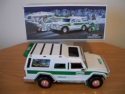 2004 Hess Sport Utility Vehicle and Motorcycles  NIB