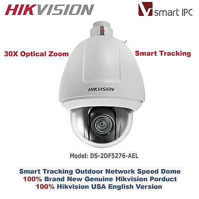 Hikvision USA Smart IPC Auto Tracking Outdoor IP Speed Dome/30X Optical Zoom/PoE