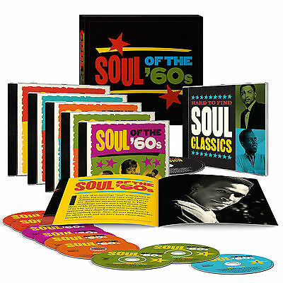 Soul of the '60s by Various Artists 9 CD Discs Time Life Box Set Band New