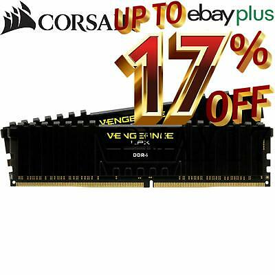 Corsair Vengeance LPX 16GB (2x8GB) DDR4 3200MHz Gaming Memory Black RAM 1.35V