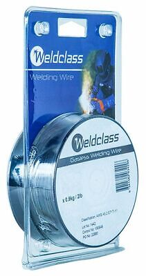 Cigweld 0.8mm Gasless Mild Steel Flux Cored MIG Welding Wire 0.45kg Spool