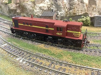 "NSW - ""TRAX"" 48 CLASS  DIESEL  LOCO, DC ONLY, 4827, KD's, TUSCAN, HEADLIGHTS,"