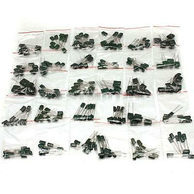 278 Pcs 30 Values Polyester Film Capacitor Assorted Assortment Kit 470pf - 470nf