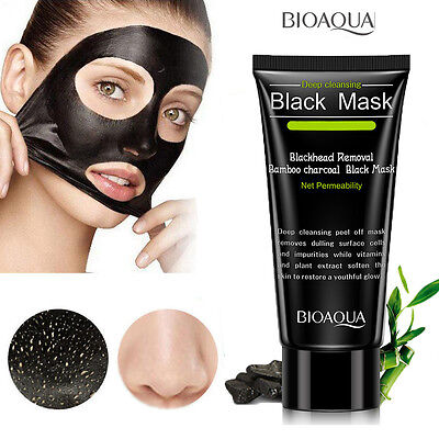 Purifying Black Peel-off Mask Blackhead Remover Facial Cleansing Charcoal Masks