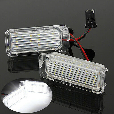 2x LED Number License Plate Light For Ford Fiesta Focus Kuga Mondeo Error Free
