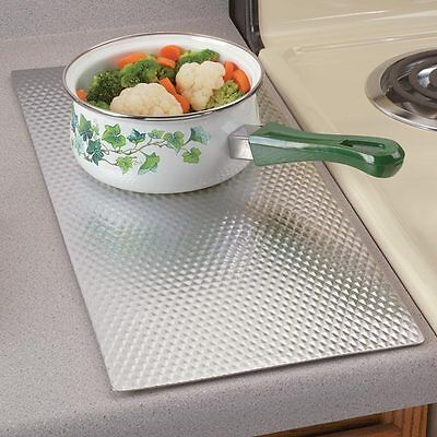 "17"" x 14"" Kitchen Trivet Counter Table Mat Heat Protection Non Skid Insulated"