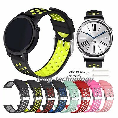 Replacement Sport Silicone Watch Band Strap For Huawei Watch 2 &1st & GT & 2 Pro