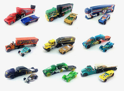 Hot Wheels Galactic/Road Rally/Speedway/X-Trayn Car Haulers CARS BRAND loose New