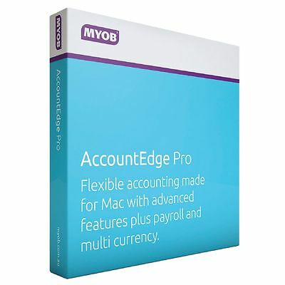 MYOB Account Edge Pro for MAC users Only (MEFUL-RET-AU-ACCEDGEPRO)