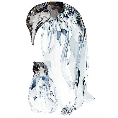Genuine Swarovski Crystal PENGUIN MOTHER With BABY 5043728