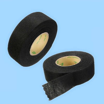 Useful 25mm x 10m Adhesive Cloth Flannel Felt Tape Looms Wiring Harness For Car