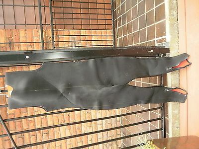 "Wetsuit, Scuba Diver's, Long Johns & Hooded Jacket, 5mm neoprene, fit 6'2"" male."