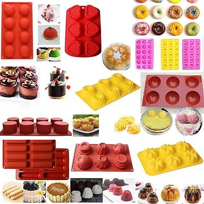 Silicone Sugarcraft Mould Cake Mold Chocolate Baking Cake Pan Decorating Tools
