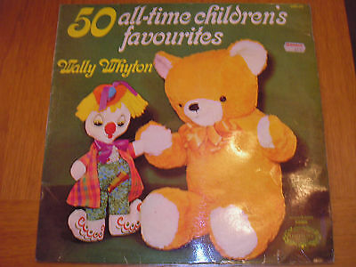 50 All-Time Children's Favourites LP by Wally Whyton - Hallmark Records HMA 218