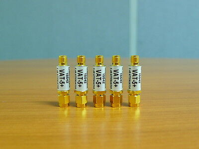 5 of Mini-Circuits  Attenuators VAT-5+ type SMA