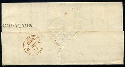 1831 GODALMIN Mileage Removed Mark in Black cover to London