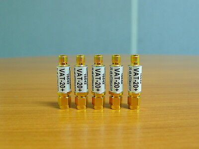 5 of Mini-Circuits Attenuators VAT -20+ type SMA
