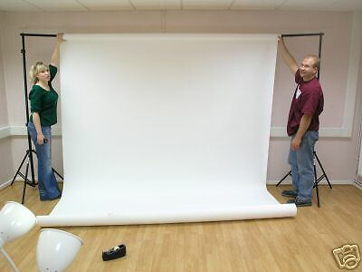 ARCTIC WHITE (2.72m x 11m) - SEAMLESS PHOTOGRAPHY BACKGROUND PAPER