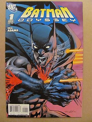Batman Odyssey #1 DC Comics 2010 Series Neal Adams 9.6 Near Mint+