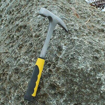 Professional Geology Hammer Exploration Tool With Sharp Mouth Flat Mouth Handle