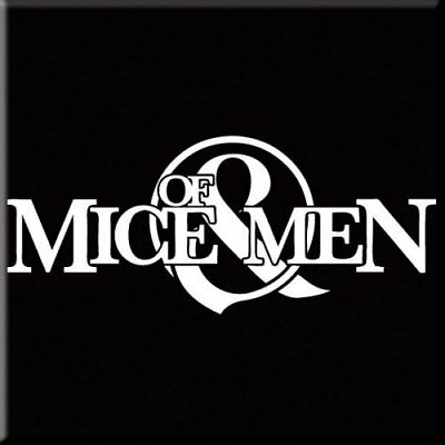 Of Mice And Men Logo Single Coaster Cork Drinks Band Music Official Merchandise