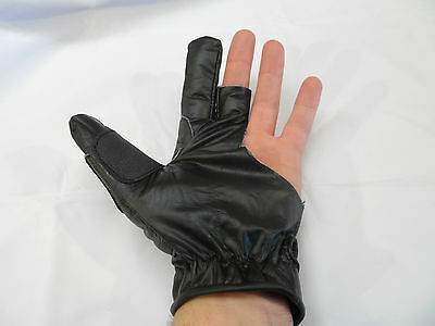 Archery leather bow hand shooting glove horse bow long bow