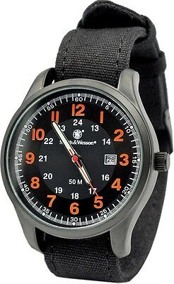 Smith & Wesson SWW-369-OR Cavalry Watch 42 x 11mm Face Orange