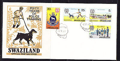 Swaziland 1977 Police Training First Day Cover.- Unaddressed