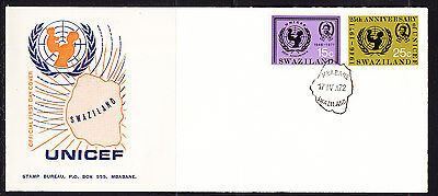 Swaziland 1972 UNICEF First Day Cover.- Unaddressed