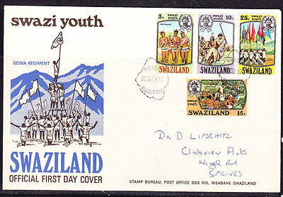 Swaziland 1975 Youth First Day Cover.- addressed