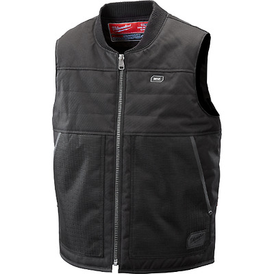Milwaukee M12 Heated Ripstop Vest, Black, Size (L), Brand New (Without Battery)