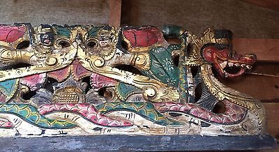 Antique Balinese Wood Carving