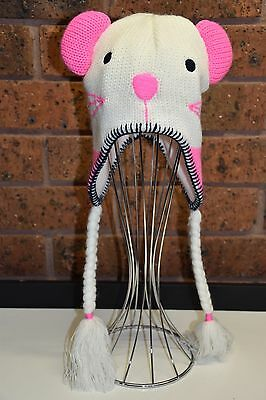 SEED Mouse Beanie Winter Hat - Size S/M (Girls) - EUC