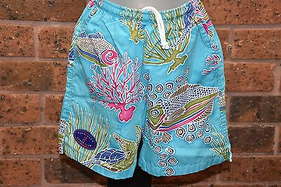 OUTRIGGER CANOE CLUB Tropical Beach Shorts - Size 6 (Kids) - EUC