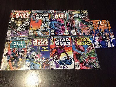 Original Volume 1 1981 Star Wars Comic LOT