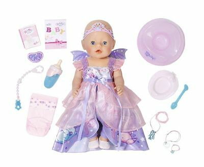 Baby Born Wonderland Interactive Doll Girl Kids Toy Gift Play Realistic Function