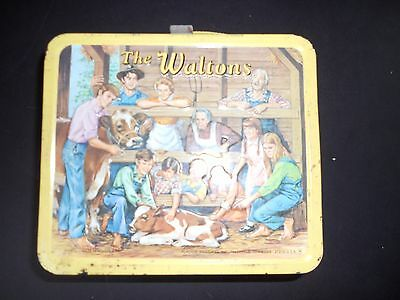 Vintage Walton's Lunchbox with thermos-1973 Aladdin Industries