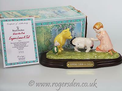 Royal Doulton  Winne The Pooh Eeyore Loses A Tail LTD EDITION 5000
