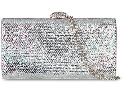Glitter Sparking Shine Bling Fashion Ladies Party Evening Clutch Box Bags 20801