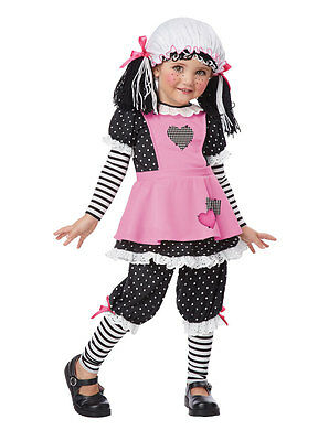 Toddler Rag Doll Costume by California Costumes 00136