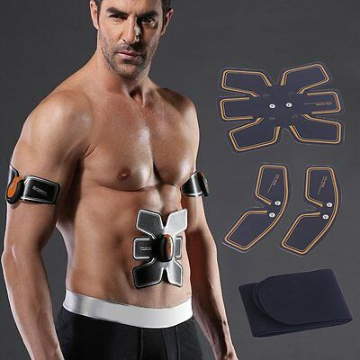 Wireless Intelligent Abdominal Muscle Toner Body Toning Muscle Training Belt WS