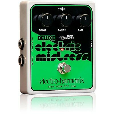 Electro-Harmonix Deluxe Electric Mistress XO Flanger Guitar Effects Pedal LN