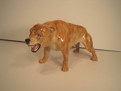 Snarling Pitbull - Elite Pottery By Peggy Davies - Limited Edition - Numbered