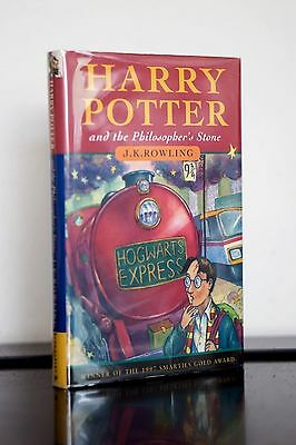 Rowling Harry Potter & the Philosopher's Stone -UK 1st/8th Inscribed and Signed