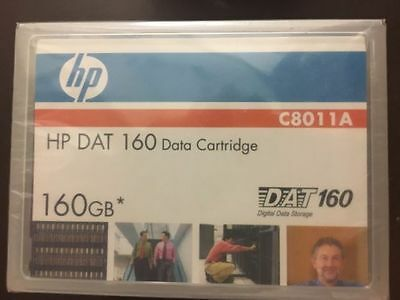 HP DAT 160 Data Cartridges C8011A DAT160 160GB-Brand New Sealed