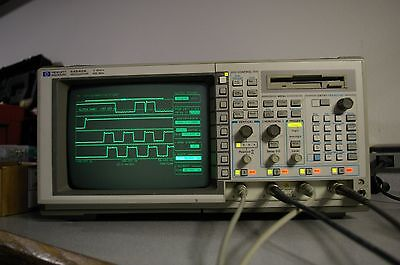 HP 54542A 500 MHz 2 GSa/s 4 channel Digital Oscilloscope DSO FFT Cal'd with Prob