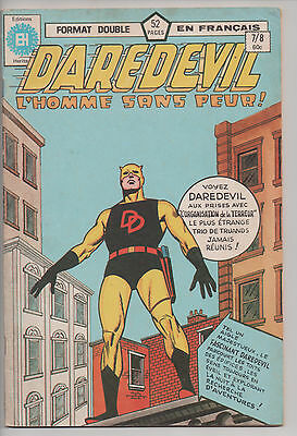 DAREDEVIL #7/8 french comic français EDITIONS HERITAGE